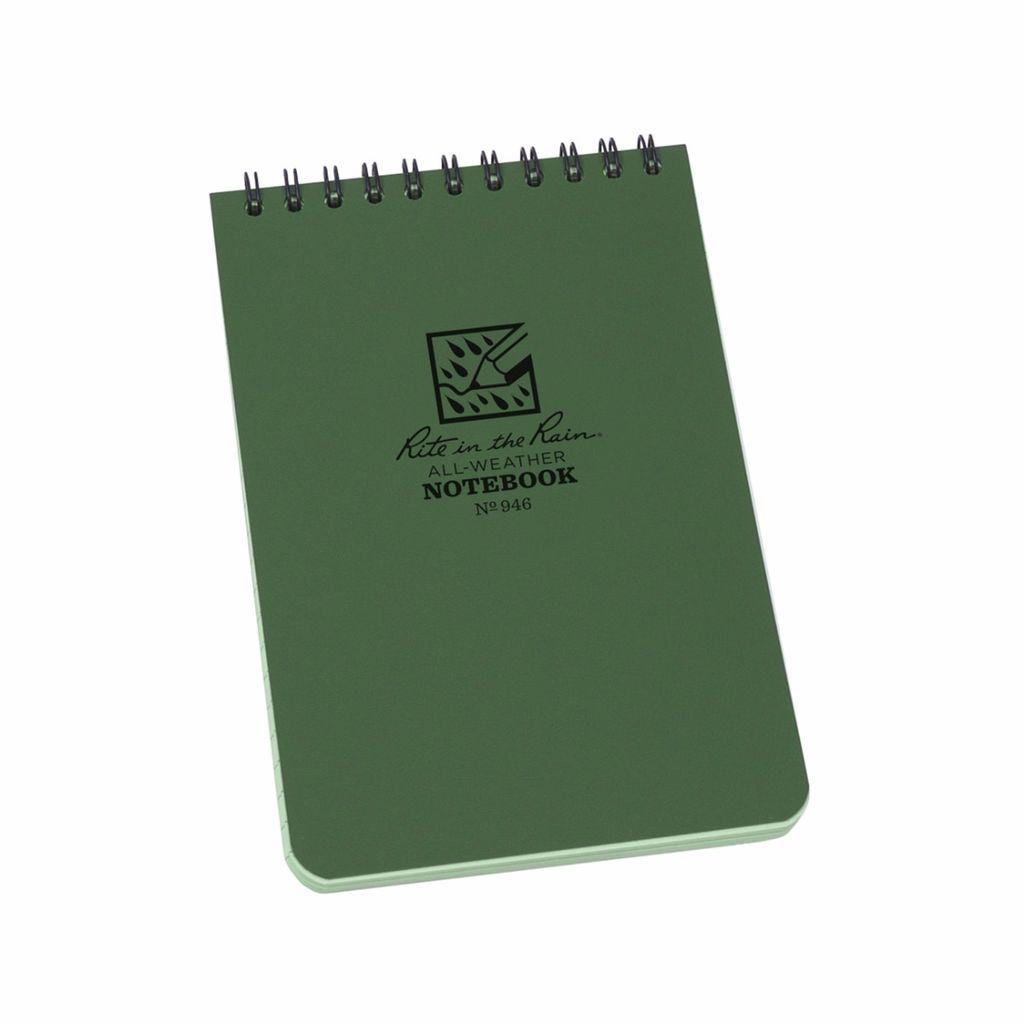 Rite in the Rain Notebook – 4 x 6 – Green
