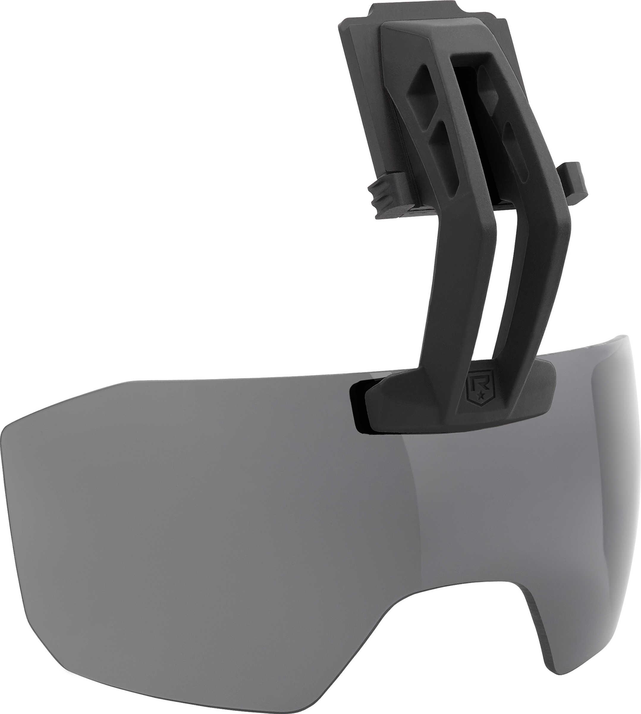Caiman Visor System   Fixed Arm Smoke Lens
