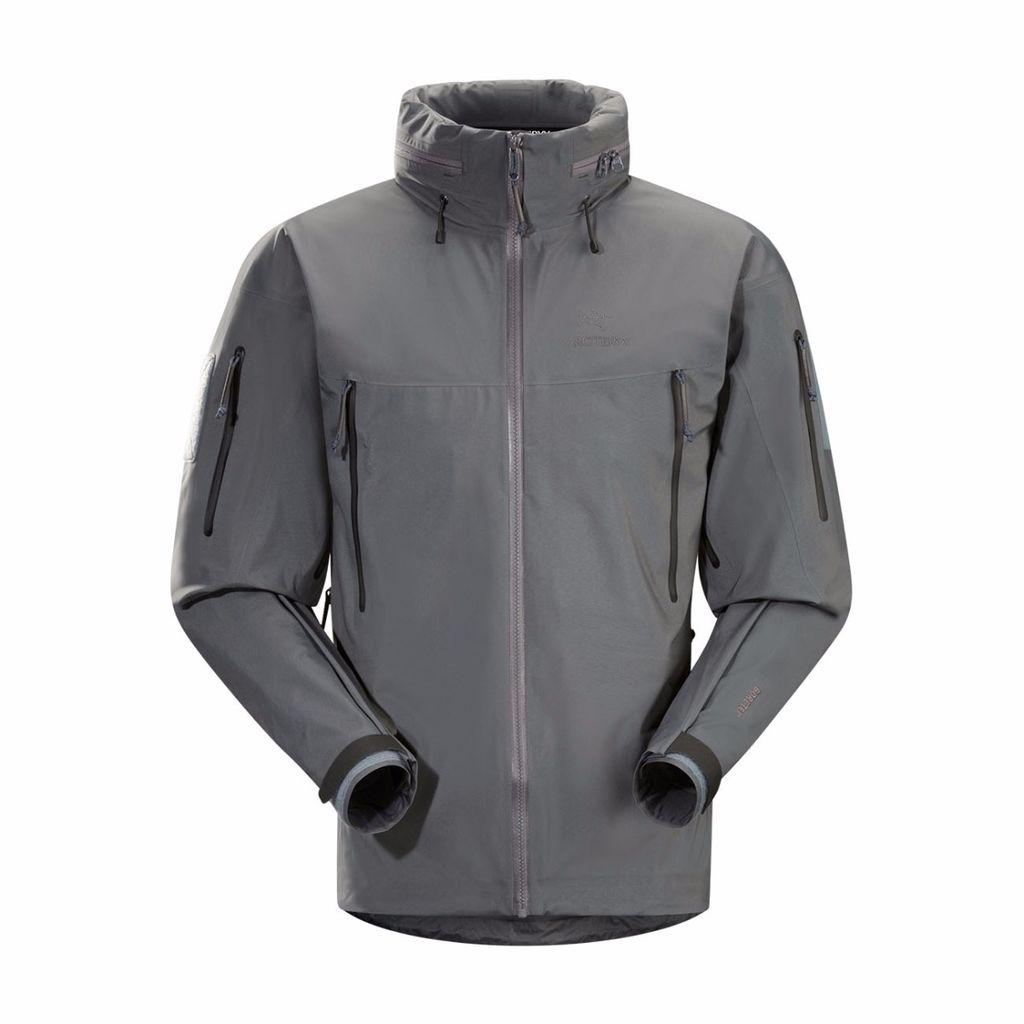Arc'teryx LEAF Alpha LT Jacket (Gen 2) - Wolf Grey - Large
