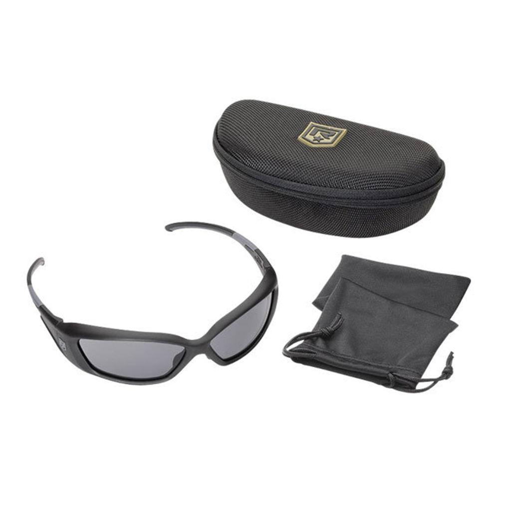 Revision Hellfly Ballistic Sunglasses - Matte Black Frames - Polarized