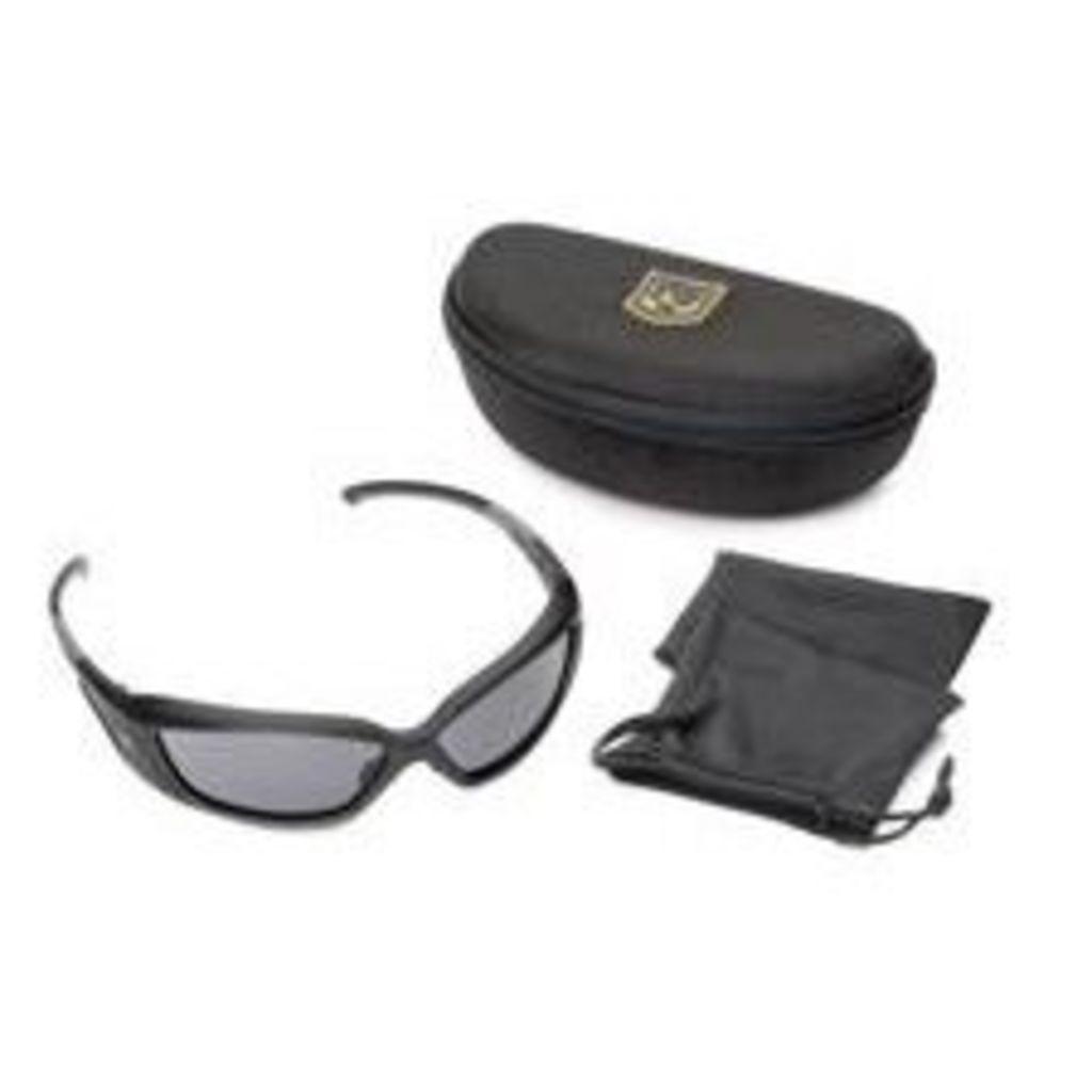 Revision Hellfly Ballistic Sunglasses - Matte Black Frames - Smoke