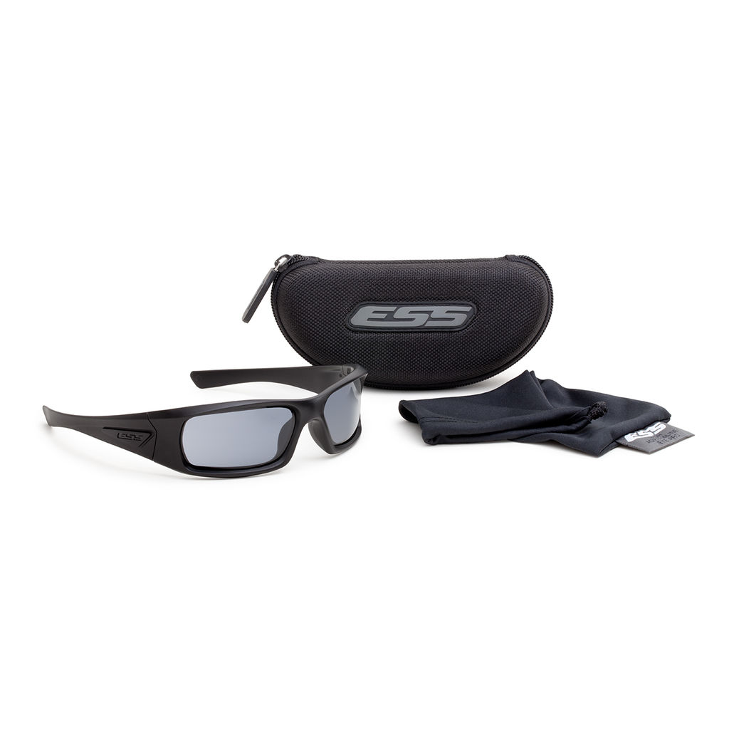 ESS Eyewear - 5B - Black w/ Gray Lenses