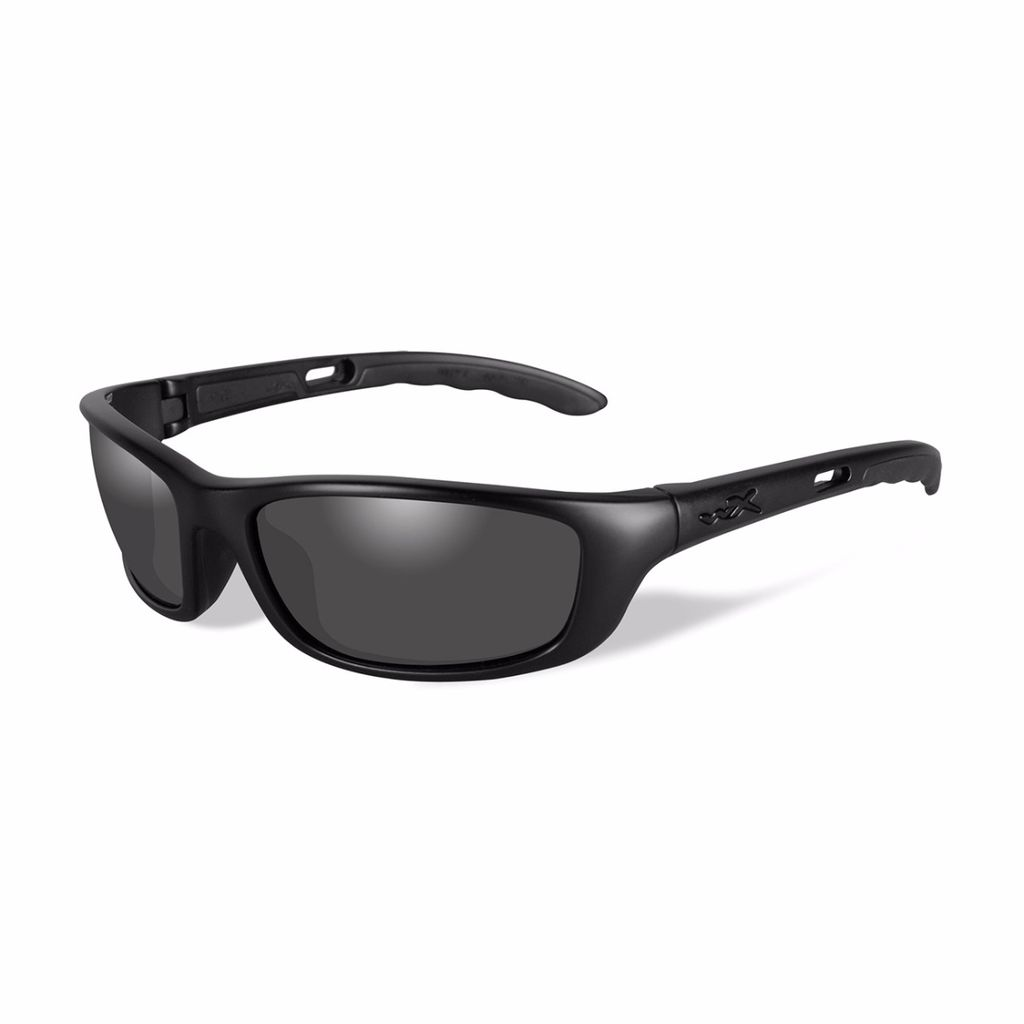 Wiley X - P-17 Black Ops Collection - Smoke Grey/Blk
