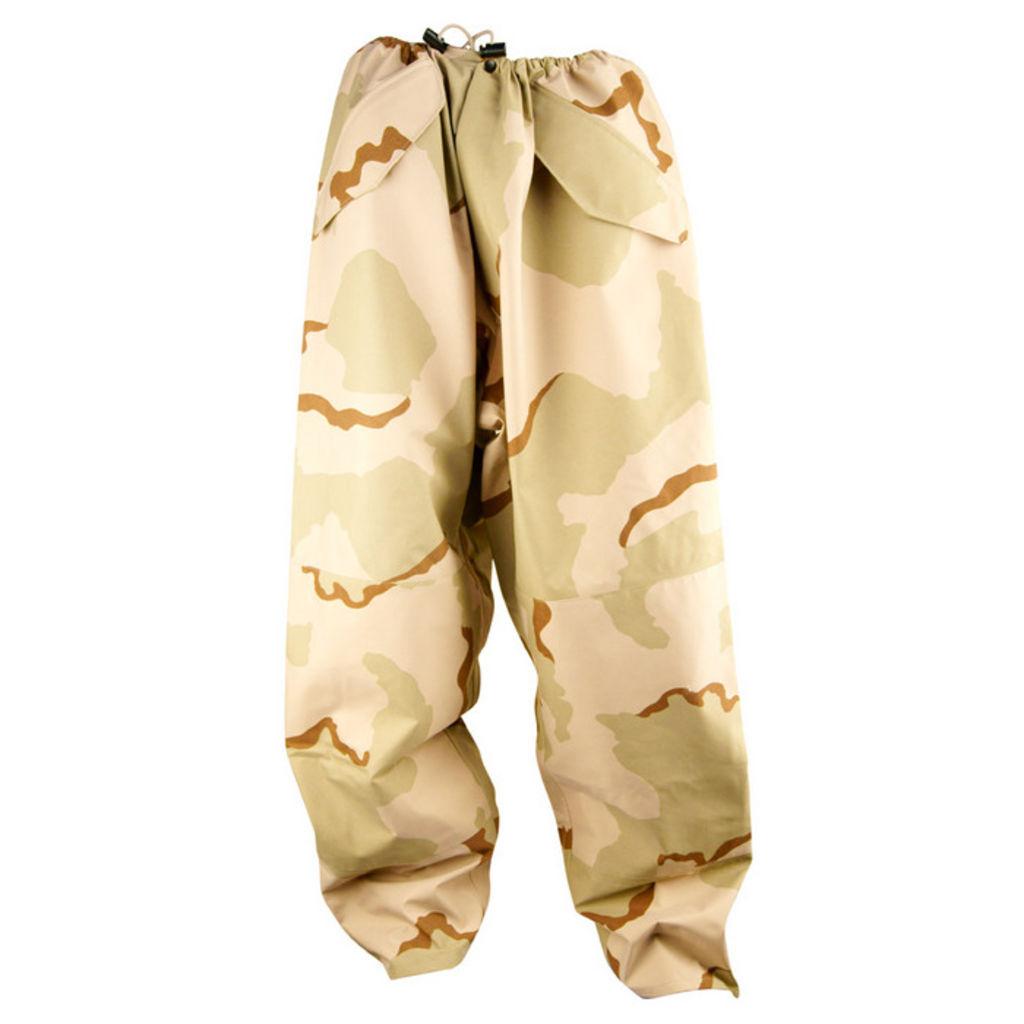 Gore-Tex ECWCS Desert Camo Trousers - X-Small-Regular