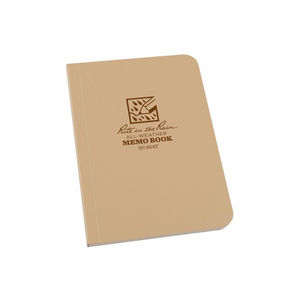Rite in the Rain Memo Book – 3.5 x 5 – Tan