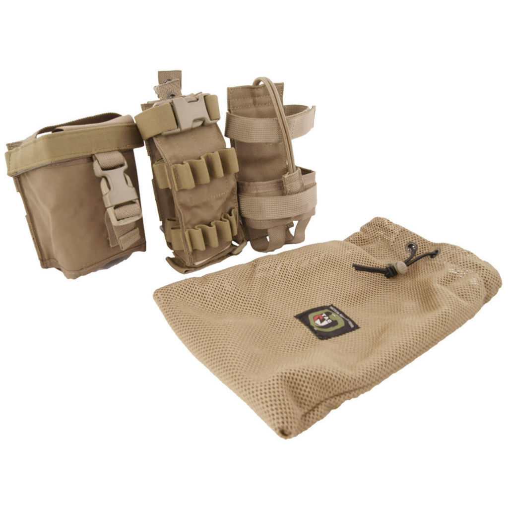 MOLLE MBITR Amp & Battery Pouch kit