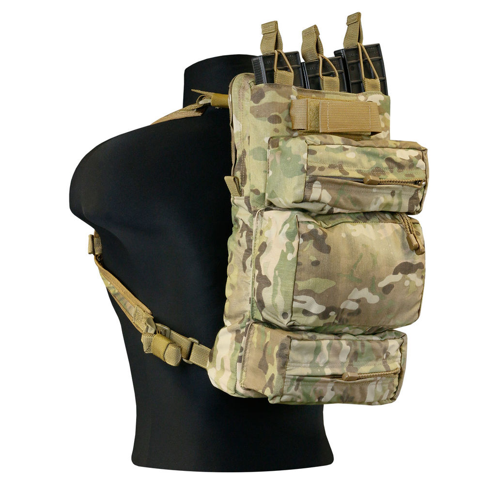 TAG Combat Sustainment Pack Military Day Pack with Extra Storage