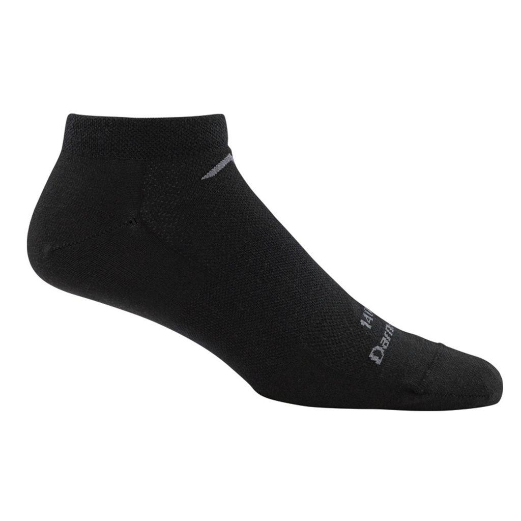 T4037 - Darn Tough Socks - No Show Mesh Ultra Light Seamless PT Sock - Black