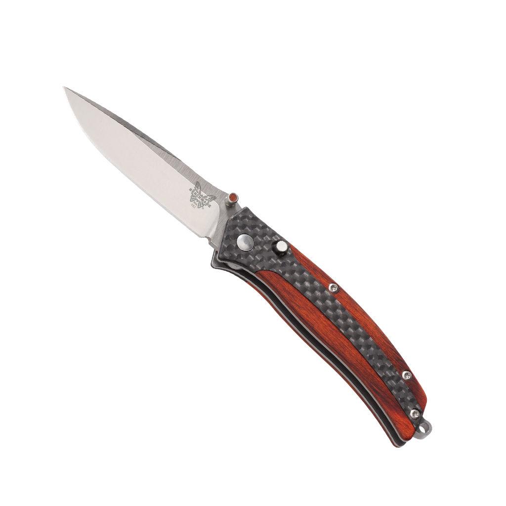 Benchmade Nakamura Megumi Plain-Edge, Satin Finish Knife