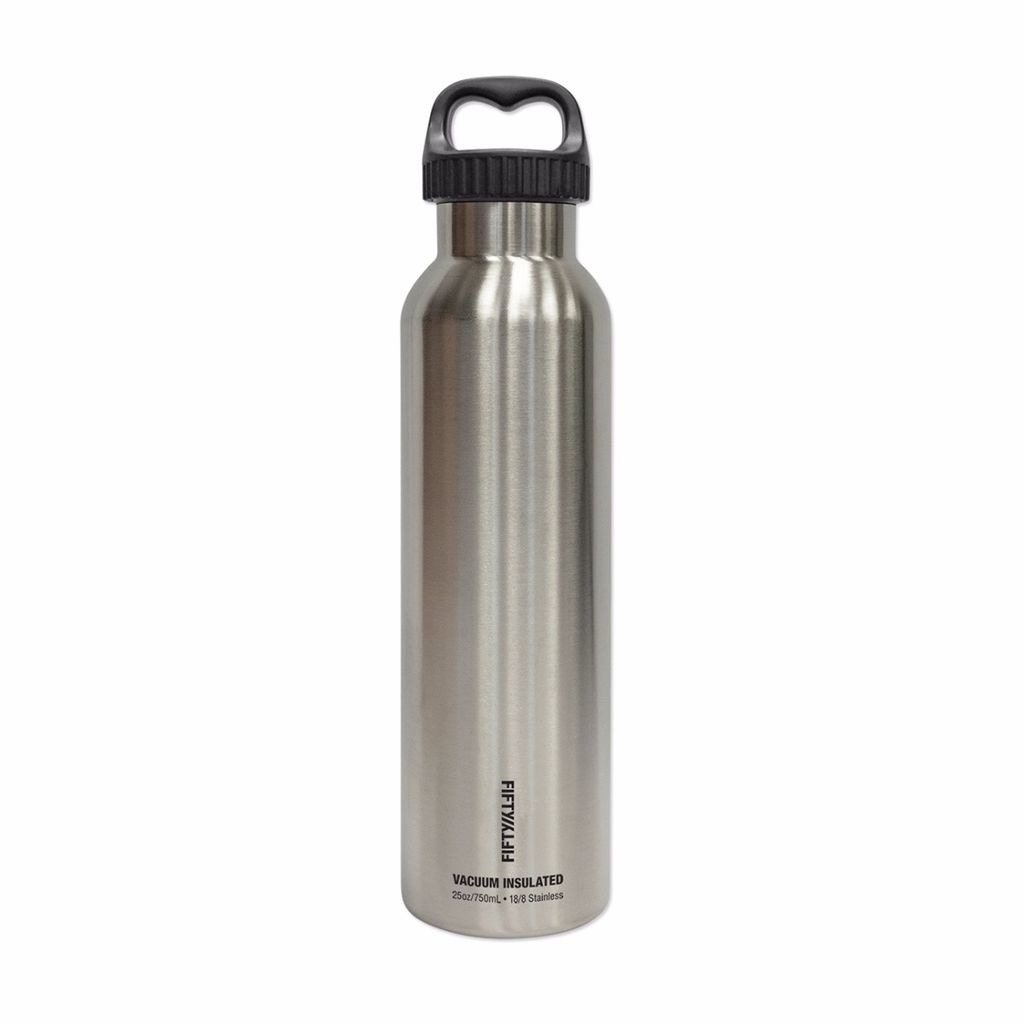 Fifty/Fifty - 25oz. Double-Wall Vacuum-Insulated Water Bottle