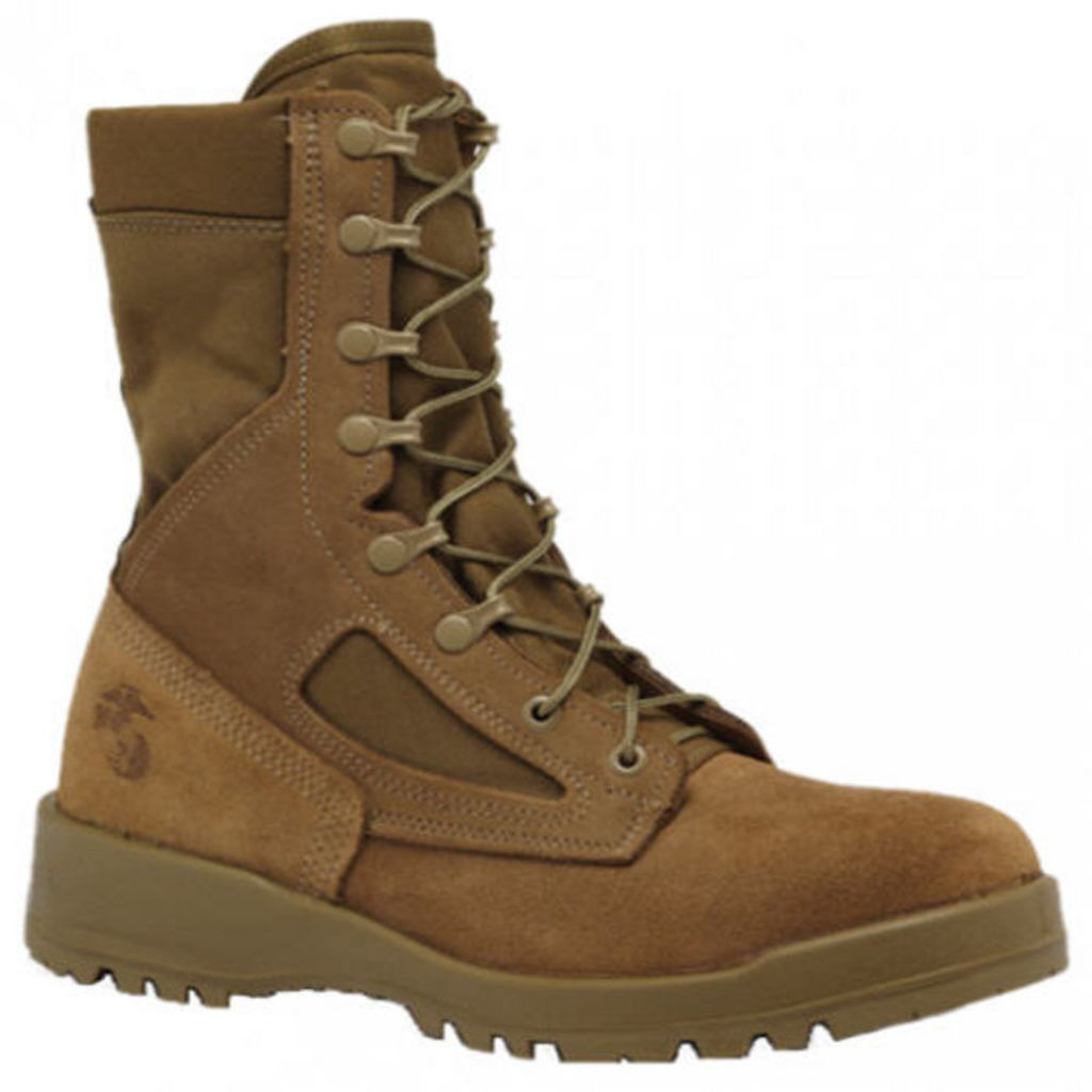 Belleville  - 550ST - USMC (EGA) Hot Weather Steel Toe Boot