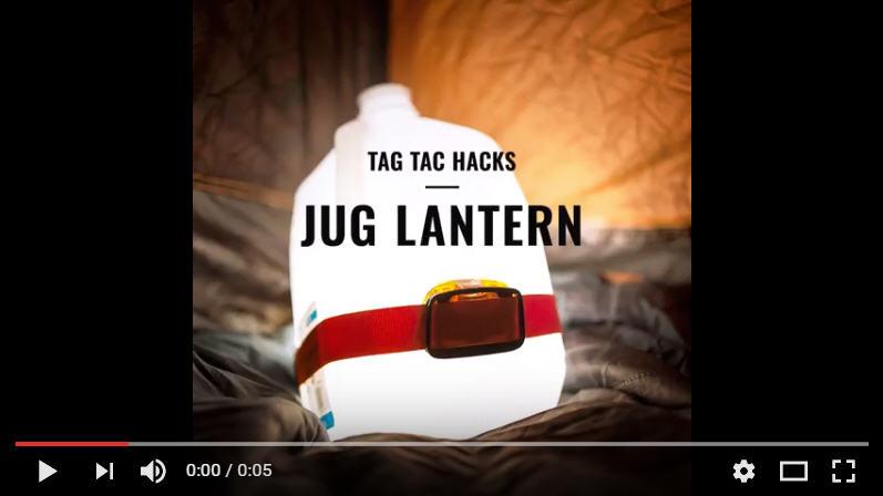 TAC Hacks #1 - Water Jug Lantern Hack