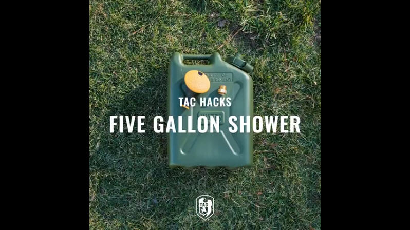 TAC Hacks #5 - Water Can Shower
